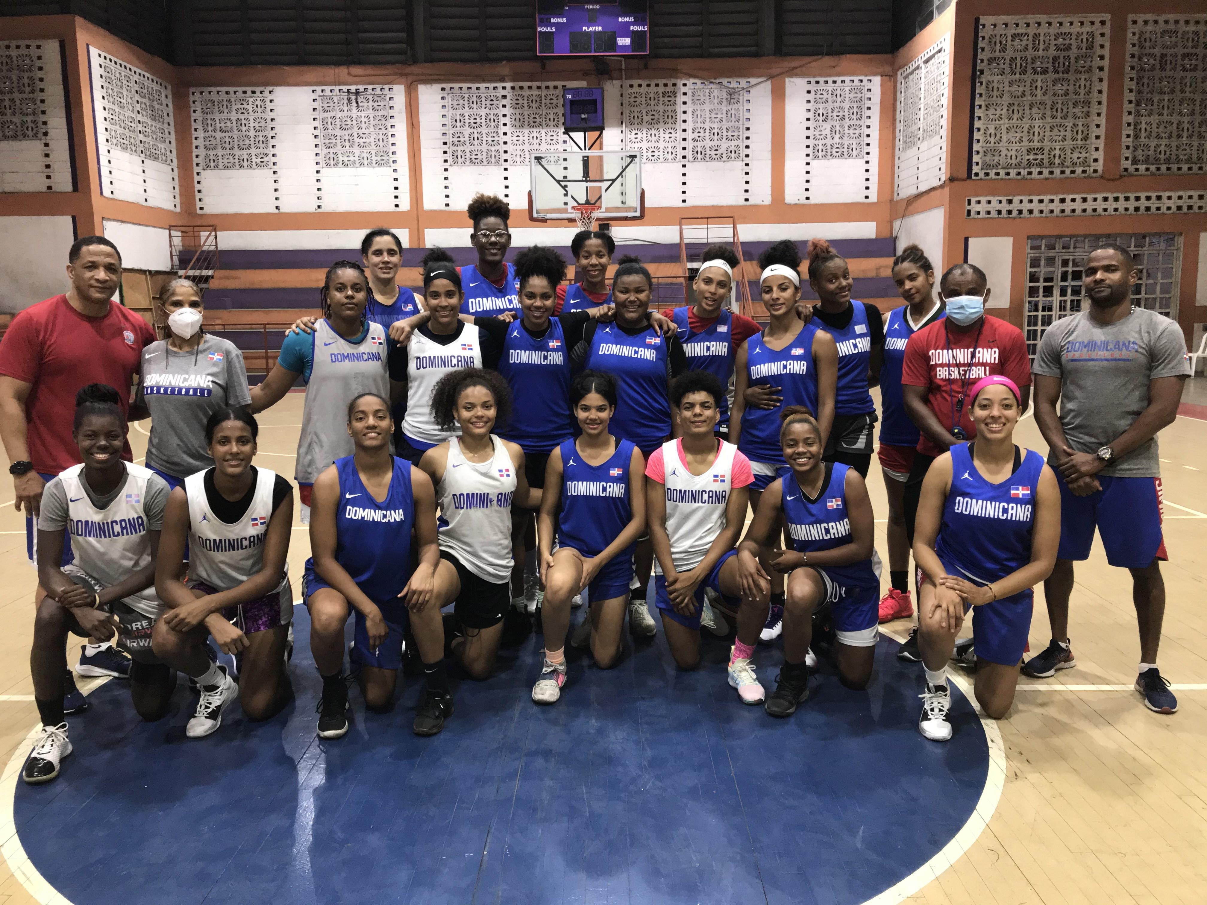 Selección basket femenina se alista para Centrobasket en El Salvador