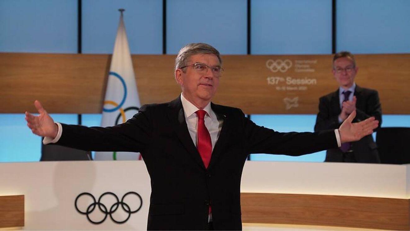 Thomas Bach reelecto como presidente del Comité Olímpico Internacional
