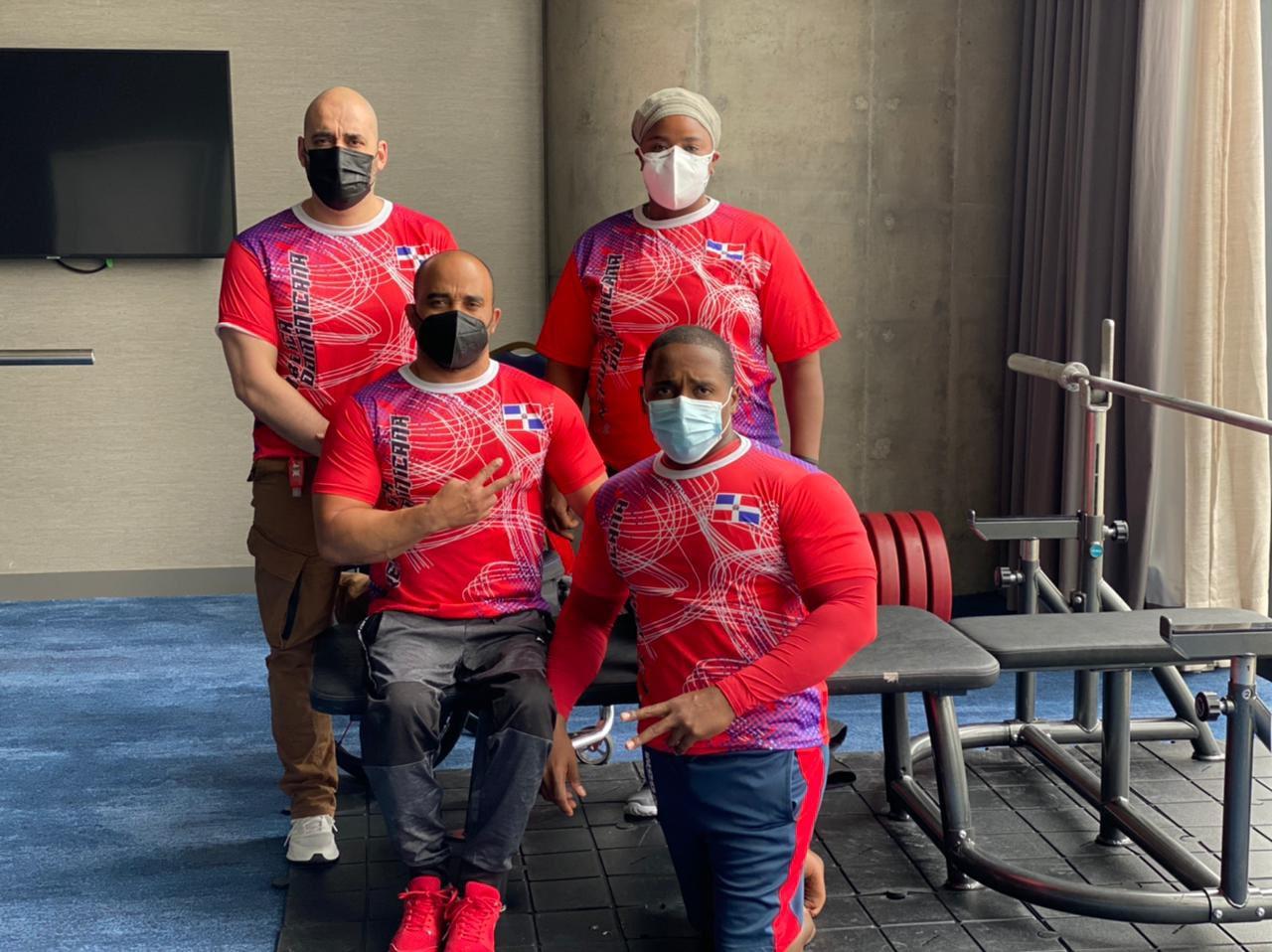 Dominicanos compiten en Copa Mundo de Parapowerlifting 2021
