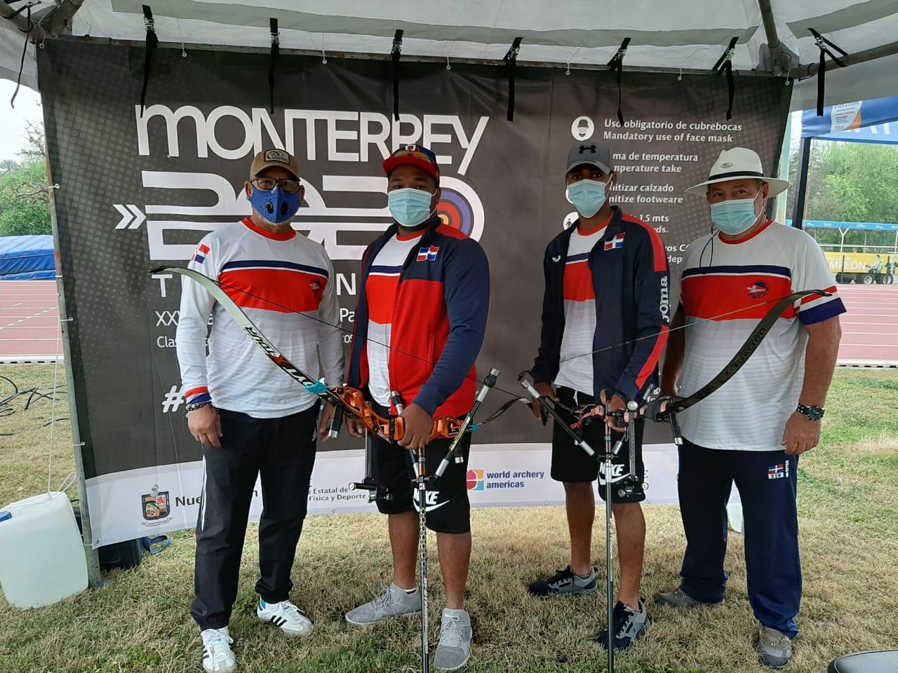 Arqueros RD compiten en campeonato preolímpico Juegos de Tokio