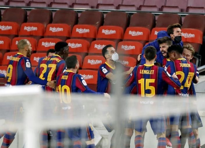 Barça se abona a la épica para plantarse en otra final Copa Rey