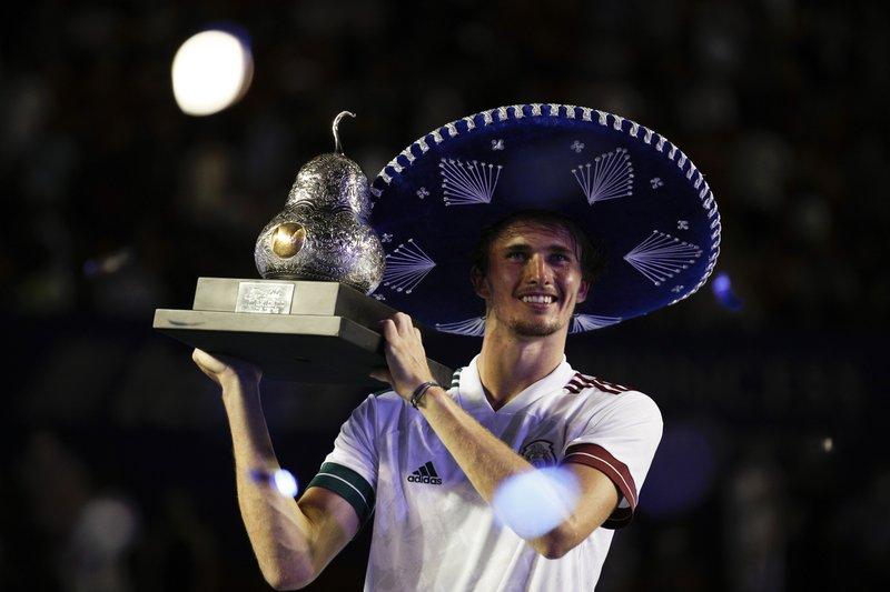 Alexander Zverev se corona en el Abierto Mexicano