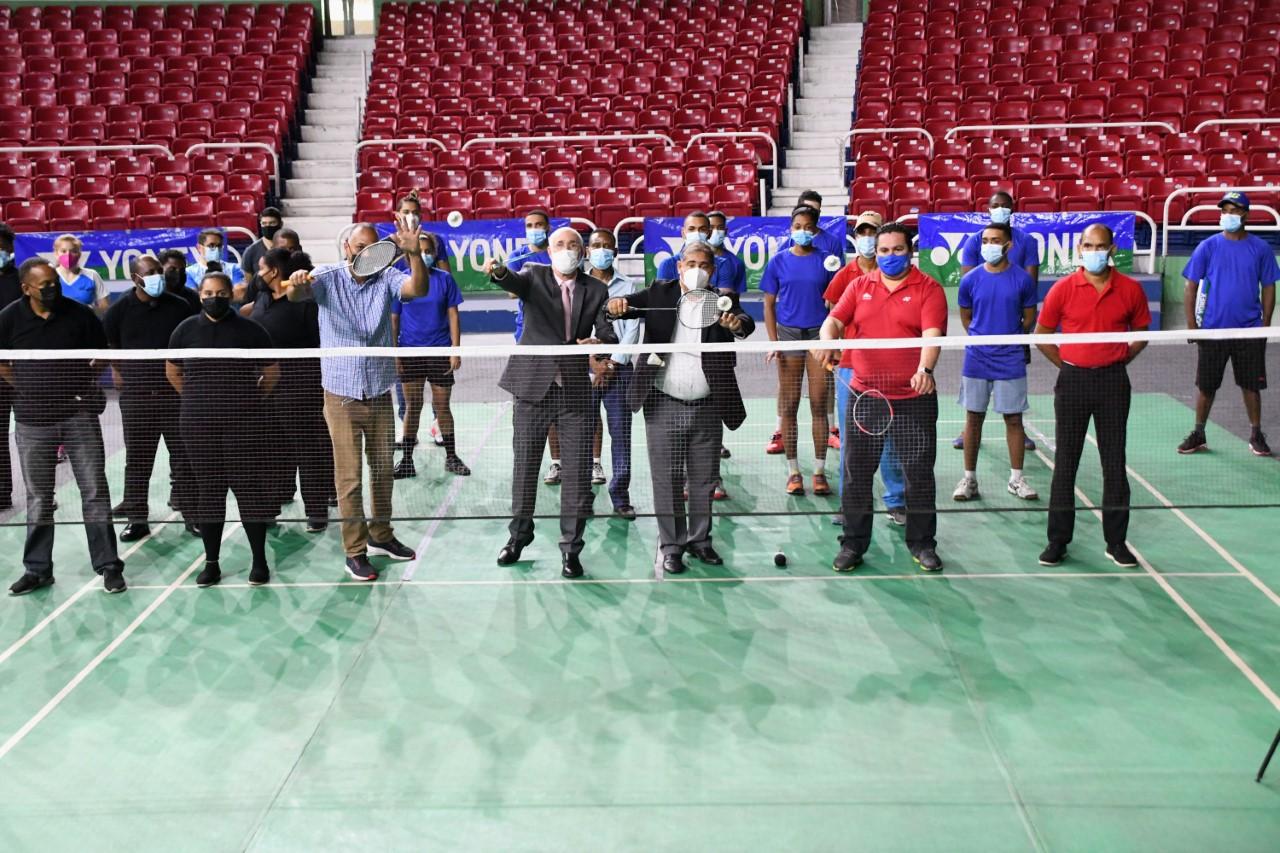 Dan apertura al torneo Santo Domingo Open 2021 de Bádminton