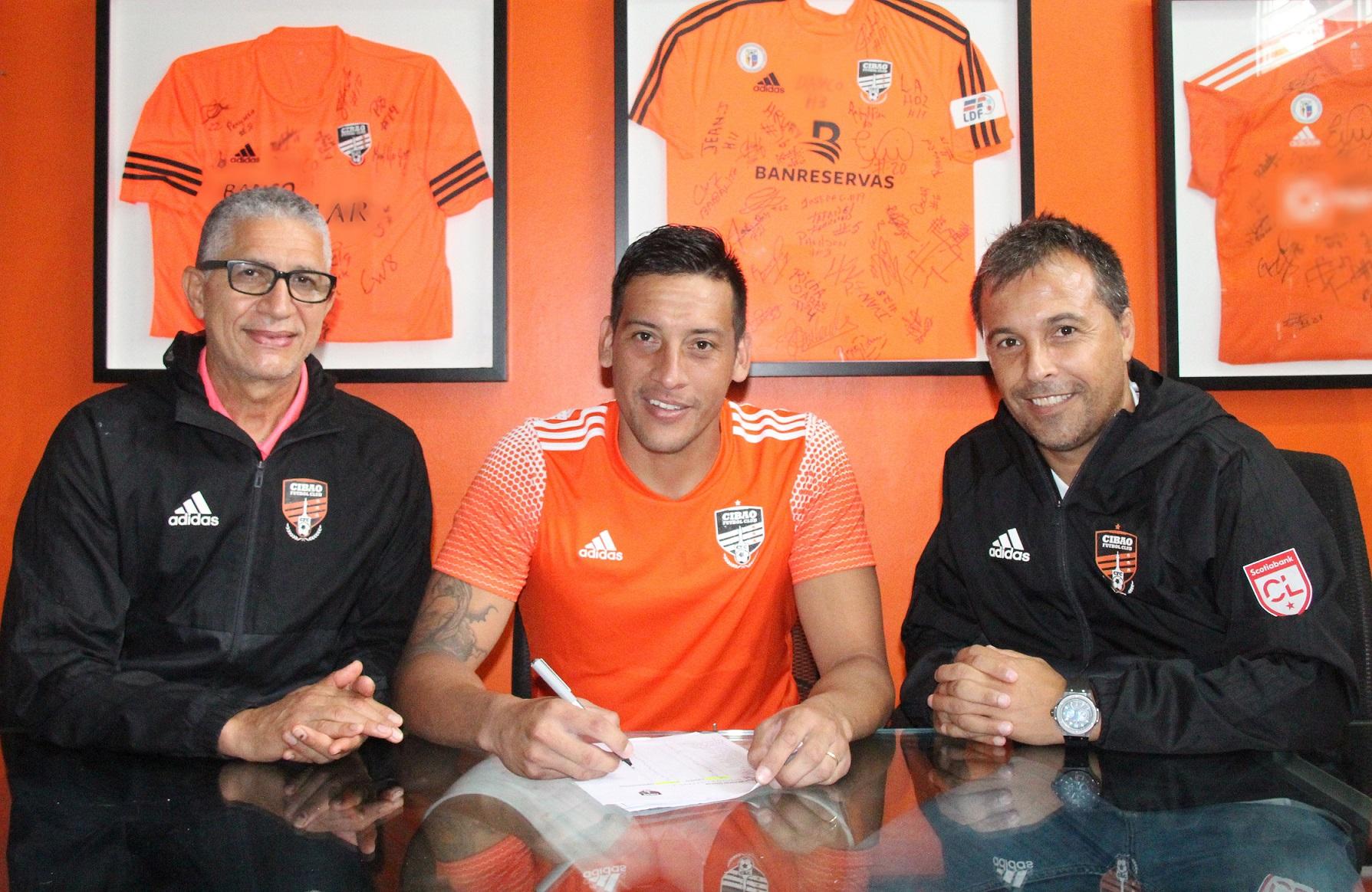Cibao FC anunció fichaje del argentino Claudio