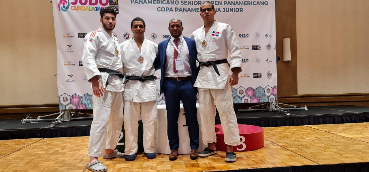 Judocas Tornal y Del Castillo, oro en clasificatorio Panam Junior