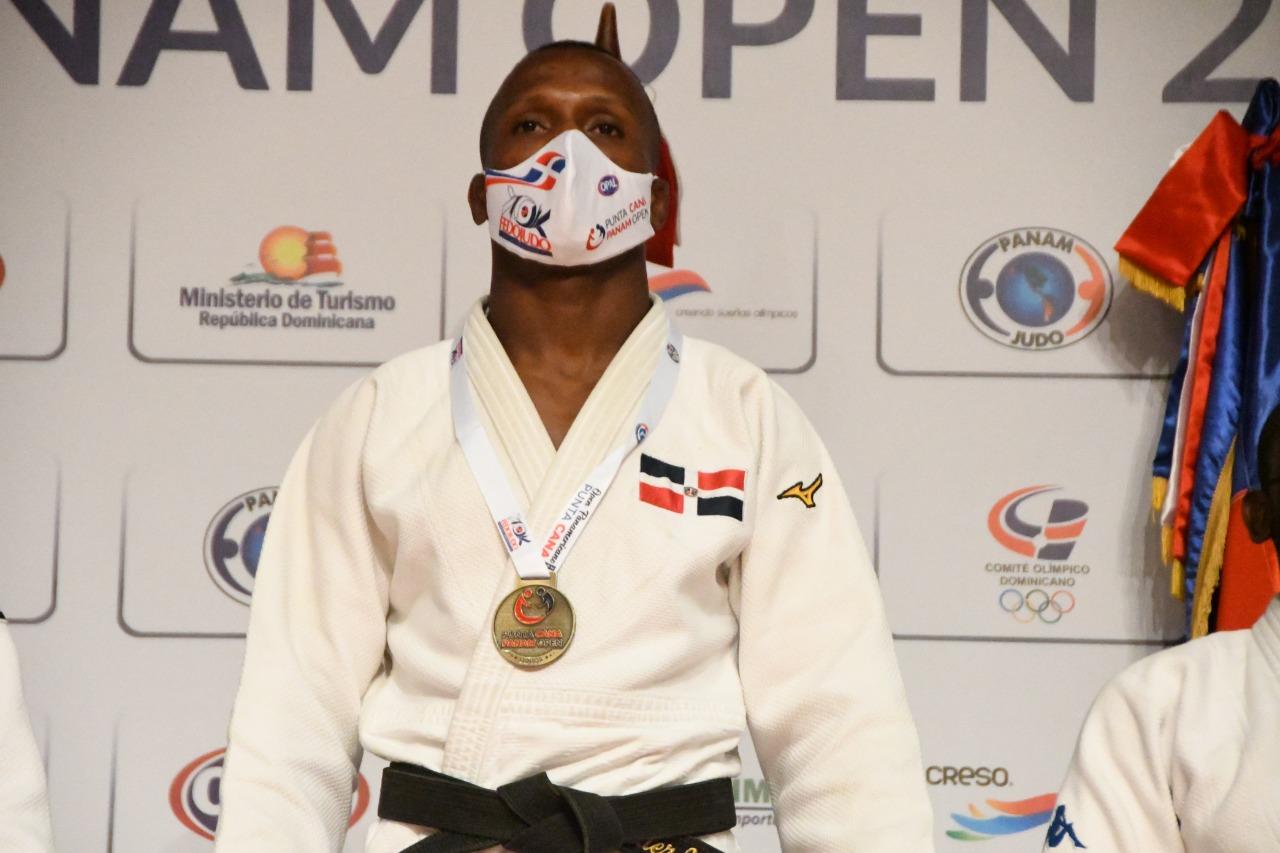 Wander Mateo se cuelga el oro en Panam Senior judo Punta Cana