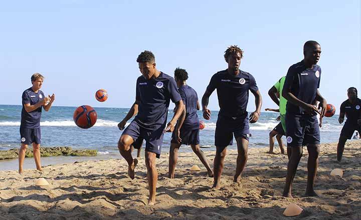 La Sedofútbol de playa inició su preparación para el Premundial