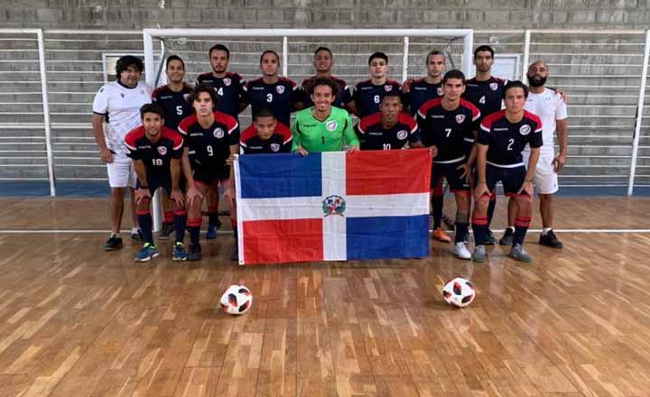 Selección de futsal en fase final de su preparación