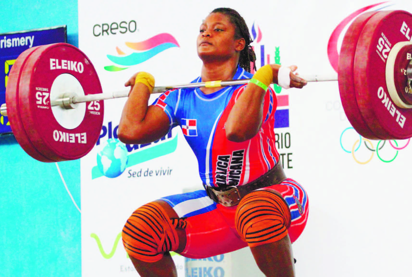 Crismery competirá este viernes clasificatorio olímpico de pesas