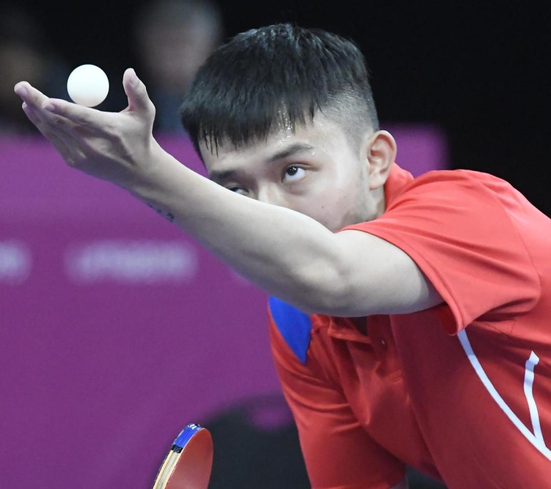 Jiaji Wu se colocó en los cuartos de final preolímpico tenis de mesa