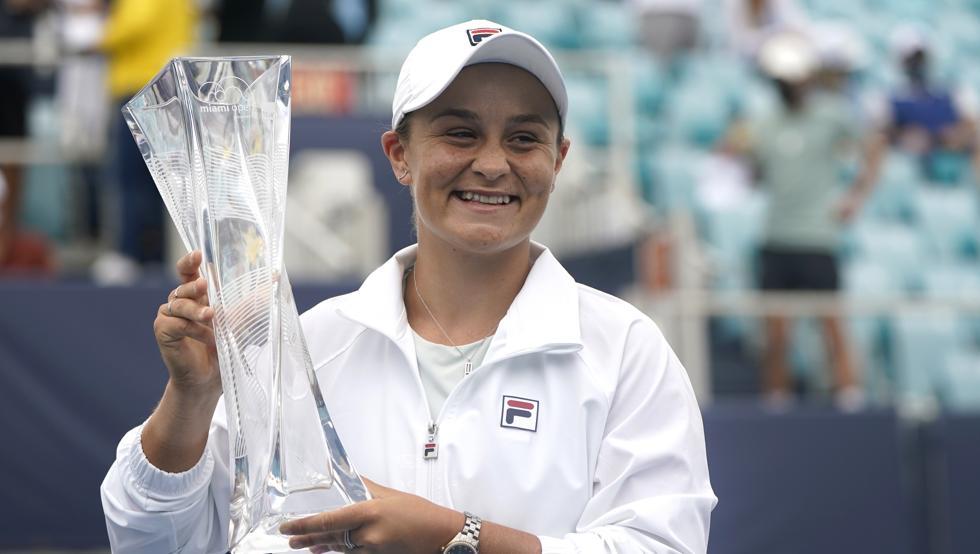 La tenista australiana Ashley Barty refuerza su número uno