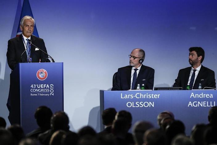 La FIGC excluirá de la Serie A a los clubes que participen Superliga