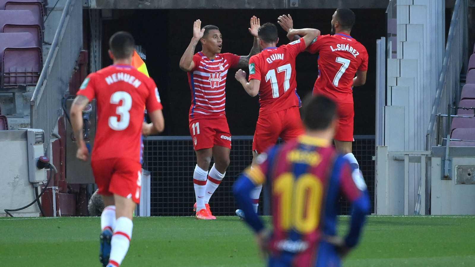 El Granada sorprende al Barça y deja la Liga aún más apretada