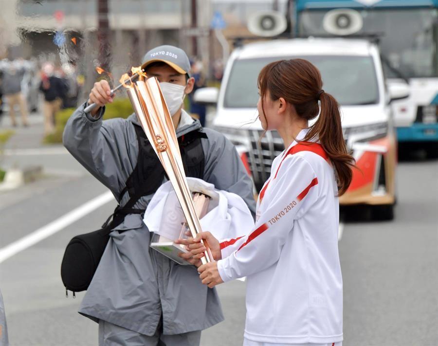 Tokio 2020 anuncia cambios en el formato del relevo de la antorcha olímpica en Osaka