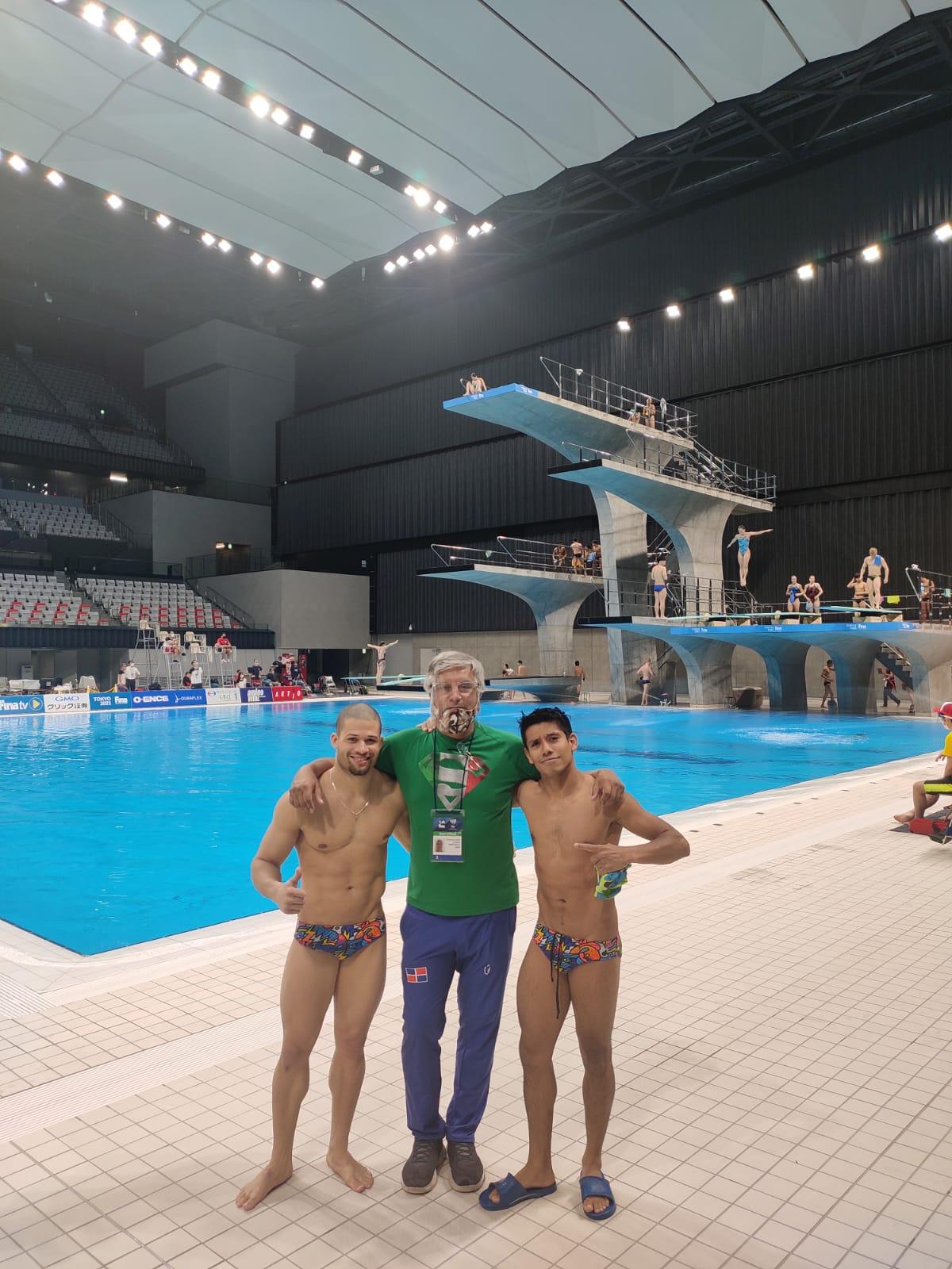 Clavadistas de RD están en Japón en busca de un boleto para Juegos Olímpicos Tokio