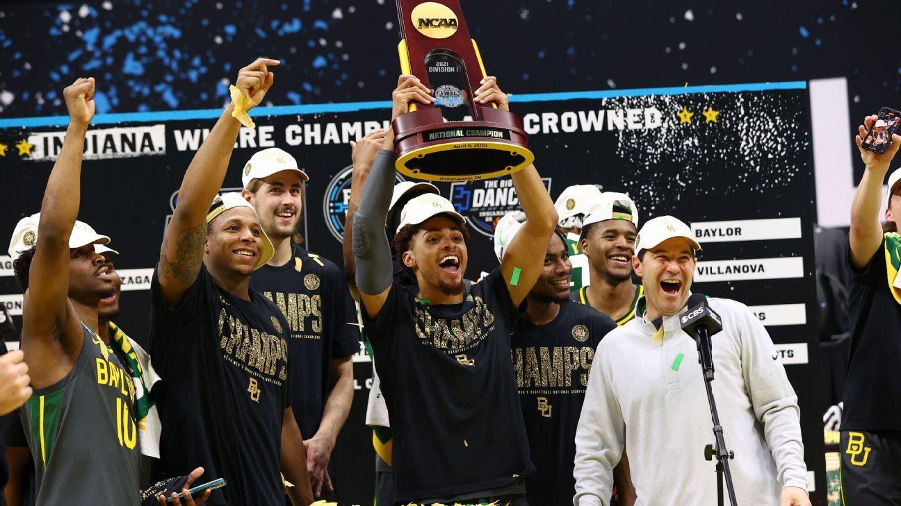 Baylor se proclama campeón del baloncesto NCAA masculino al quitar invicto a Gonzaga
