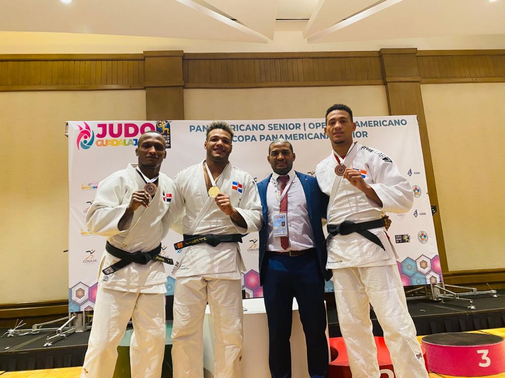 Florentino gana oro; Mateo y Del Orbe, bronce en Panam Judo