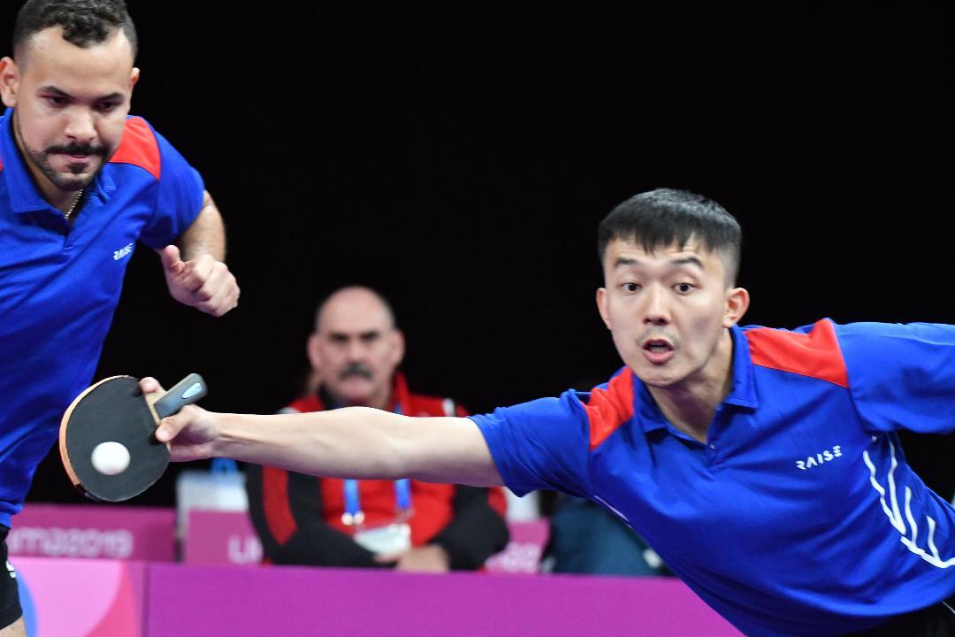 Jiaji y Emil debutan este martes en preolímpico tenis de mesa
