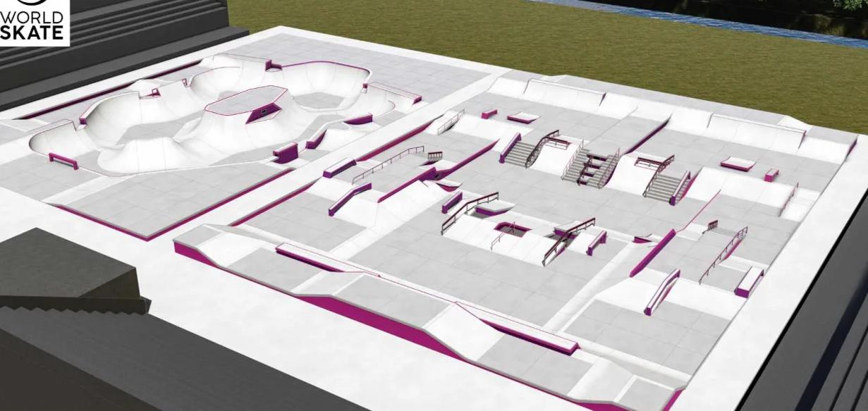 Tokio 2020 presenta diseños de pistas skateboard más grandes
