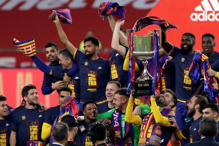 El Barcelona logra su trigésima primera Copa del Rey