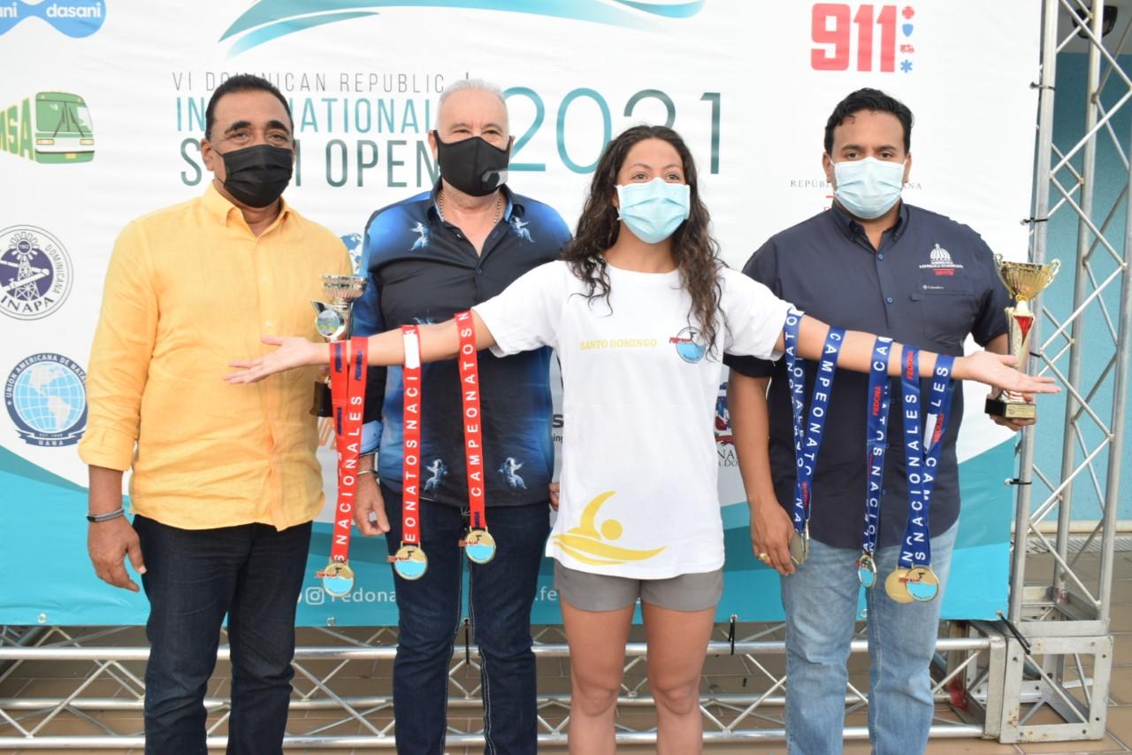 Asociación Natación del Distrito logra primer lugar Campeonato Nacional