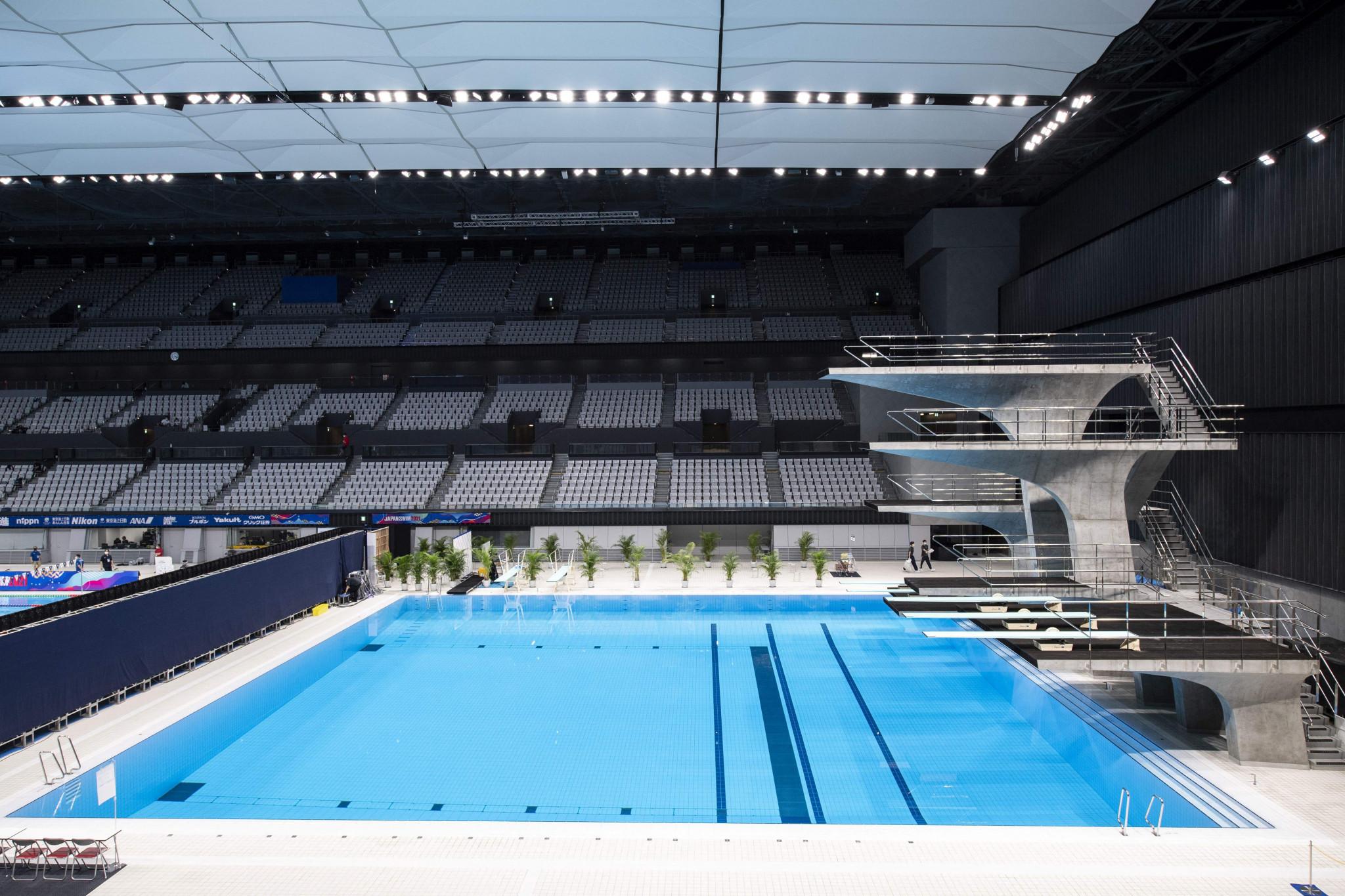 Clasificatorios de natación artística y clavado para Tokio 2020 se celebrarán en mayo
