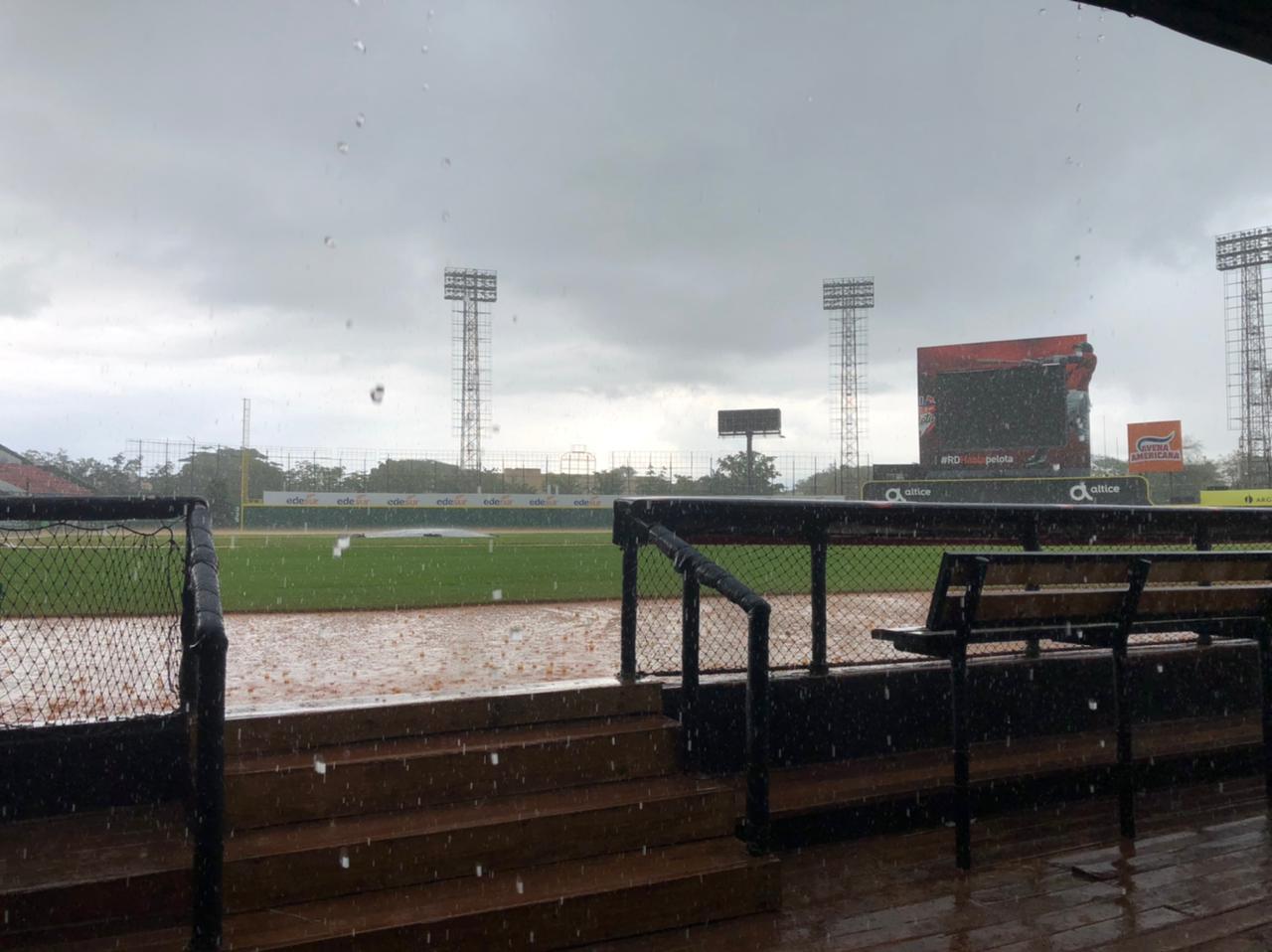 Suspendida por lluvia primera práctica de preselección RD de beisbol