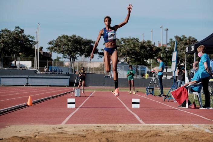 Yulimar Rojas logra su mejor marca mundial del año en Ibiza