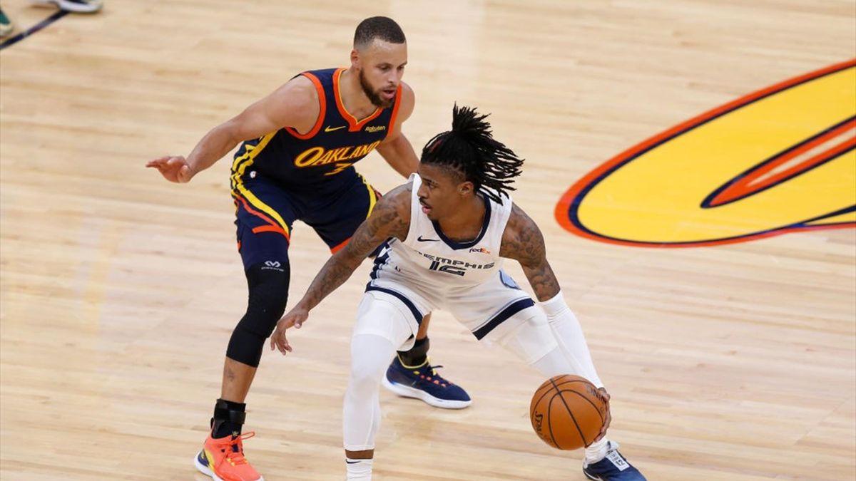 Memphis pasa a postemporada tras vencer a Warriors en prórroga