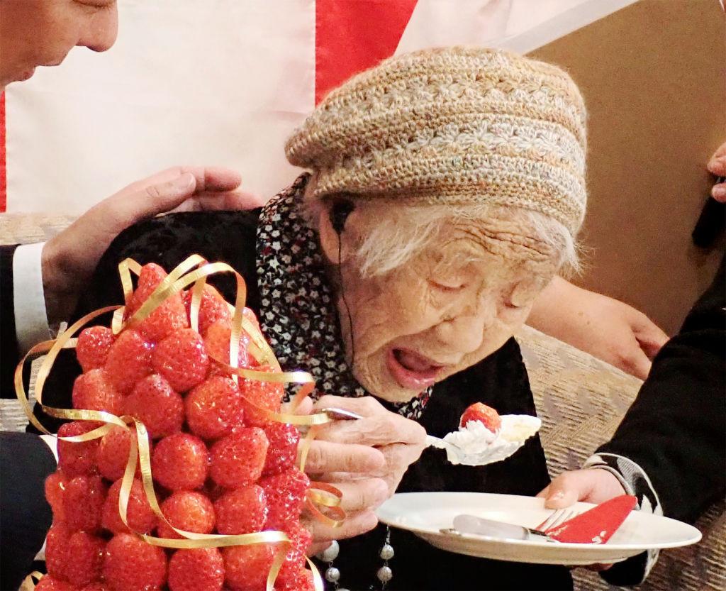 Ciudadano más longevo retirado Relevo de la Antorcha de Tokio 2020