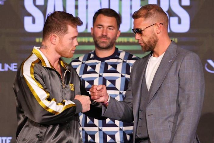 Combate 'Canelo' Álvarez contra Saunders pudiera batir marca de asistencia