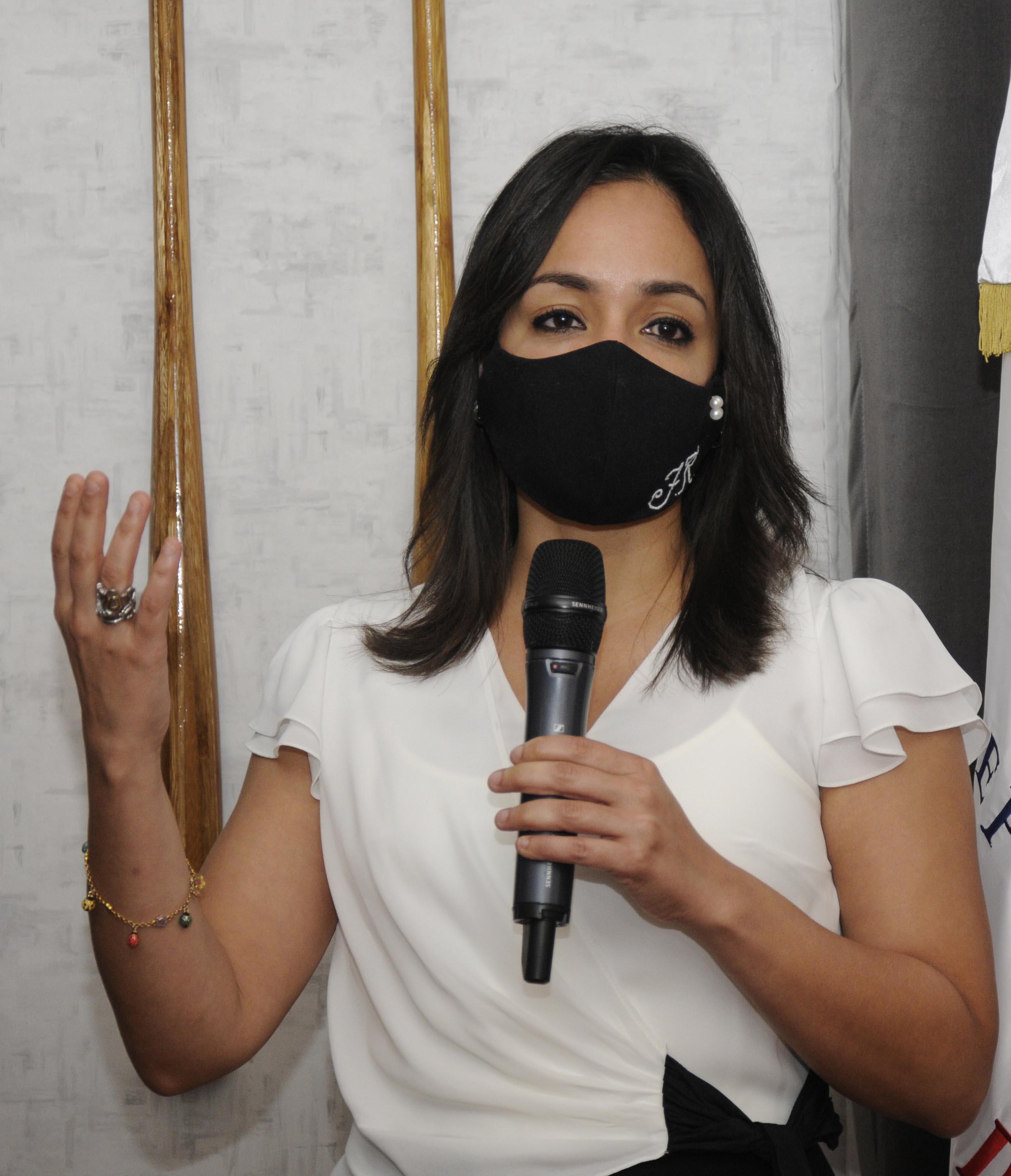 Senadora Raful impulsará apoyo a la Ley General del Deporte