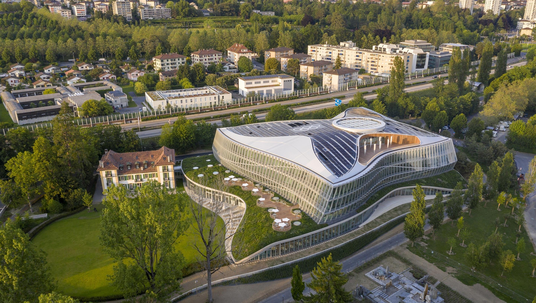 Oficialización de la nueva dirección de la sede del COI en Lausana