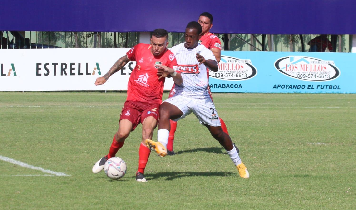 Jarabacoa y Moca cierran con empate quinta jornada LDF