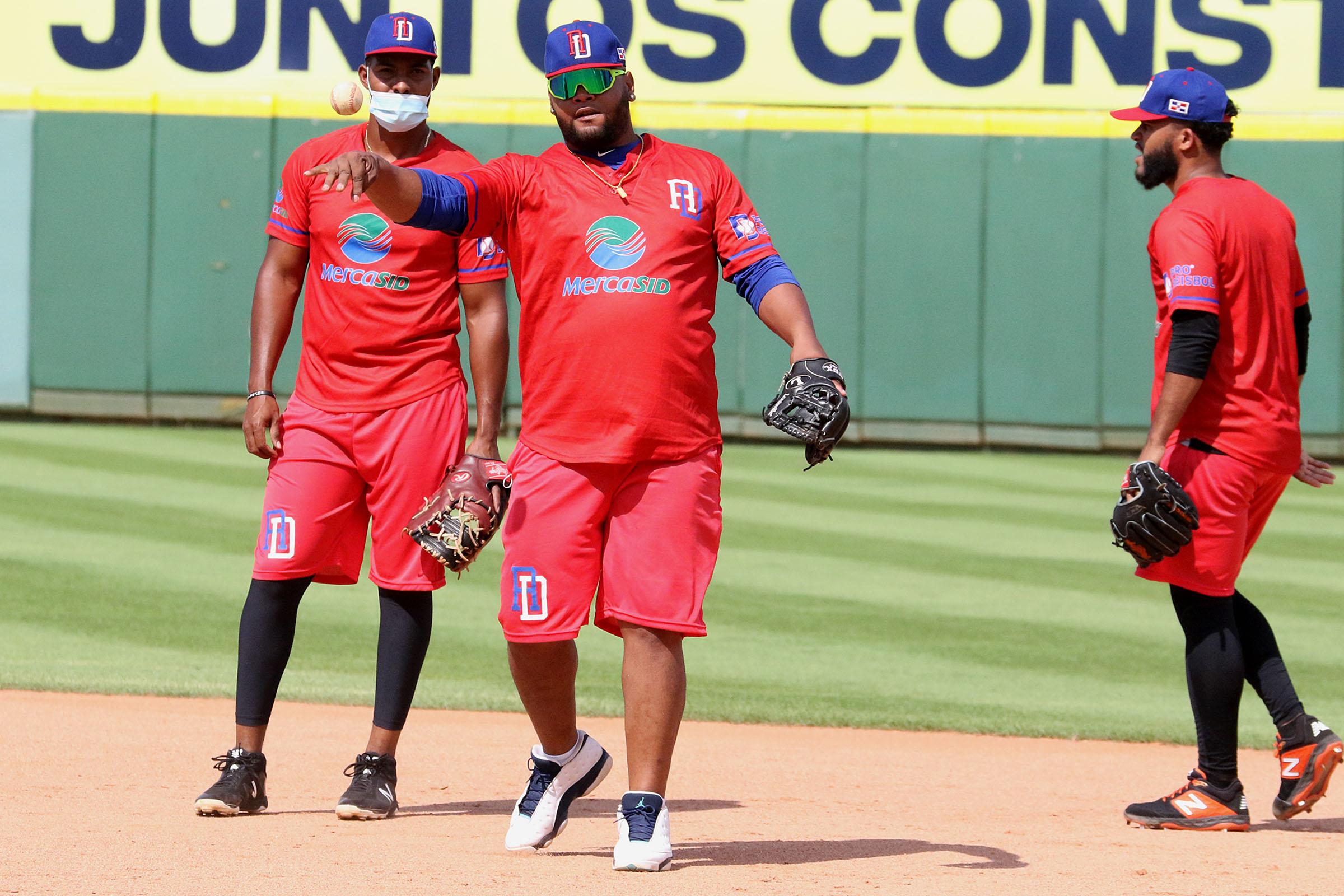 Equipo dominicano de béisbol se foguea de cara a Preolímpico