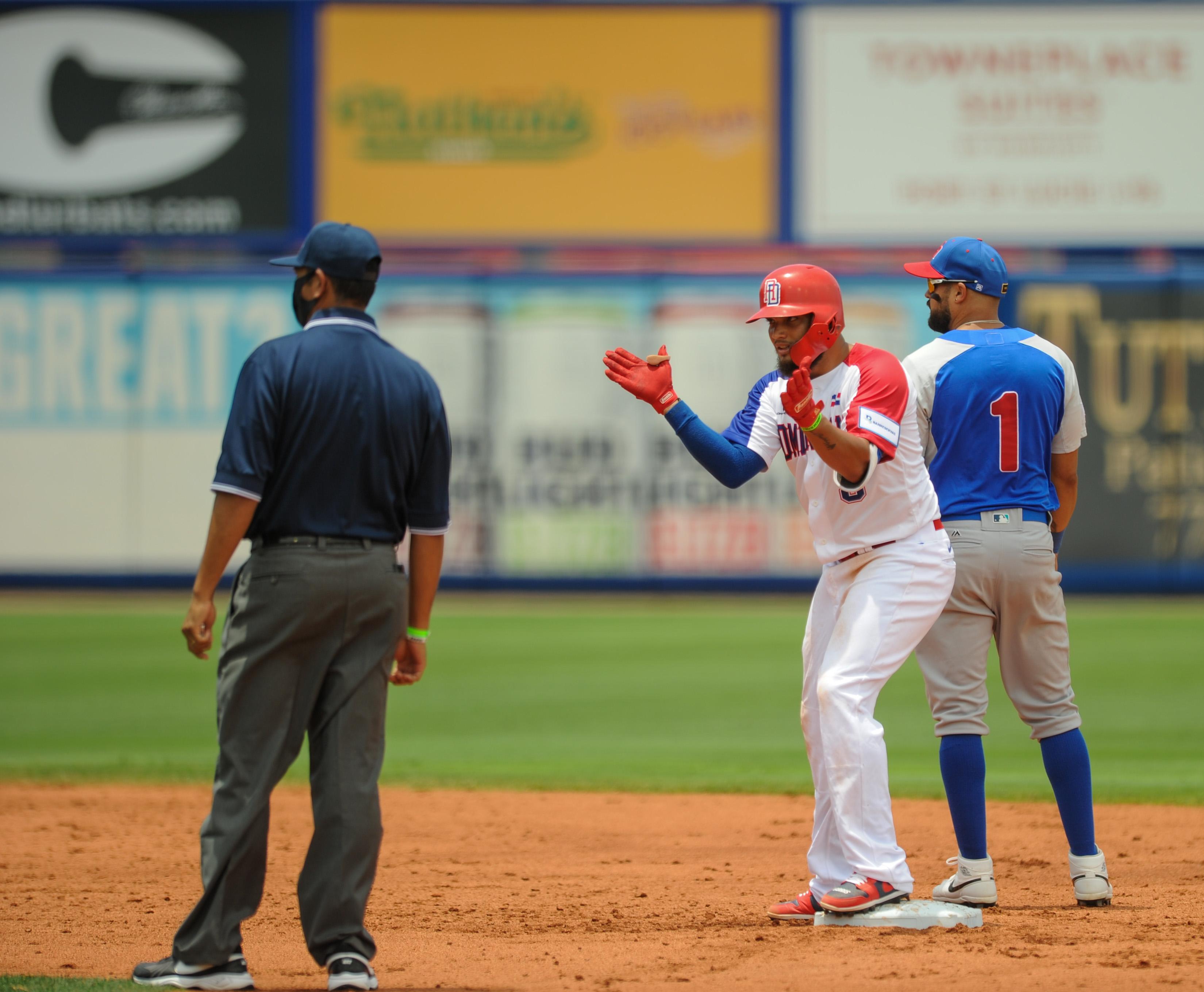 Béisbol RD debuta con victoria ante Puerto Rico apertura del Preolímpico