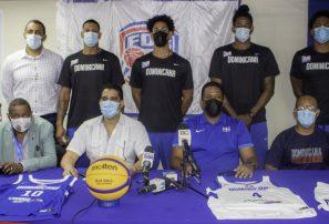 Fedombal presenta equipo va al preolímpico de baloncesto 3×3