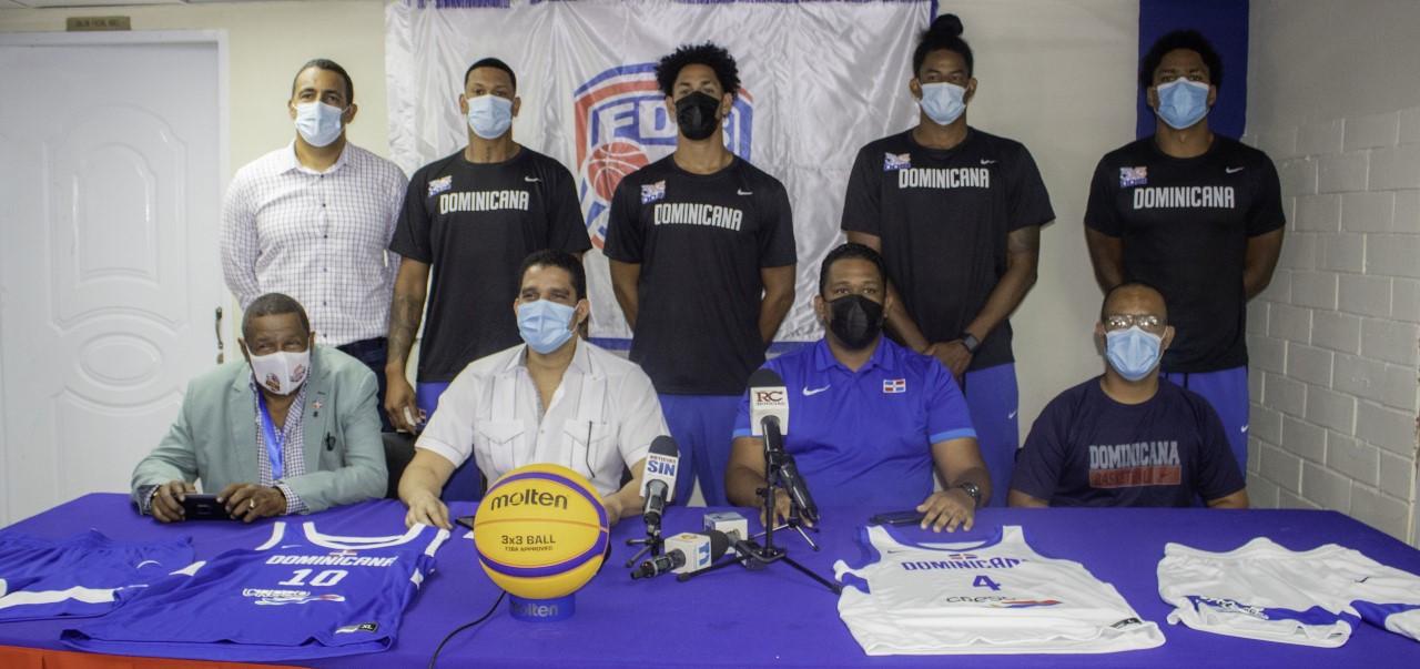 Fedombal presenta equipo va al preolímpico de baloncesto 3x3