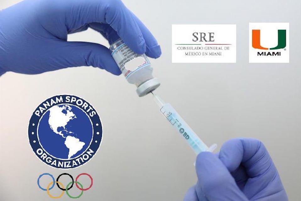 Panam Sports recibirá 4 mil vacunas para atletas de Tokio 2020