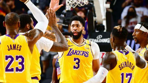 Lakers someten a Suns; Nuggets a Blazers; Bucks a uno de semis