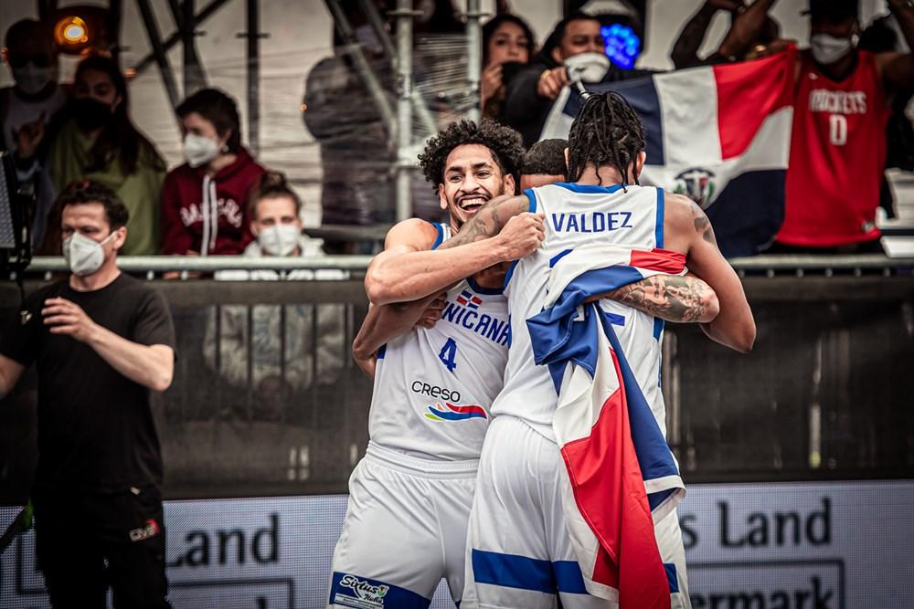 Basket RD 3x3 supera a Eslovenia en clasificatorio olímpico