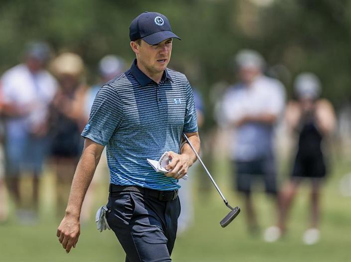 Jordan Spieth encabeza el PGA Charles Schwab Challenge