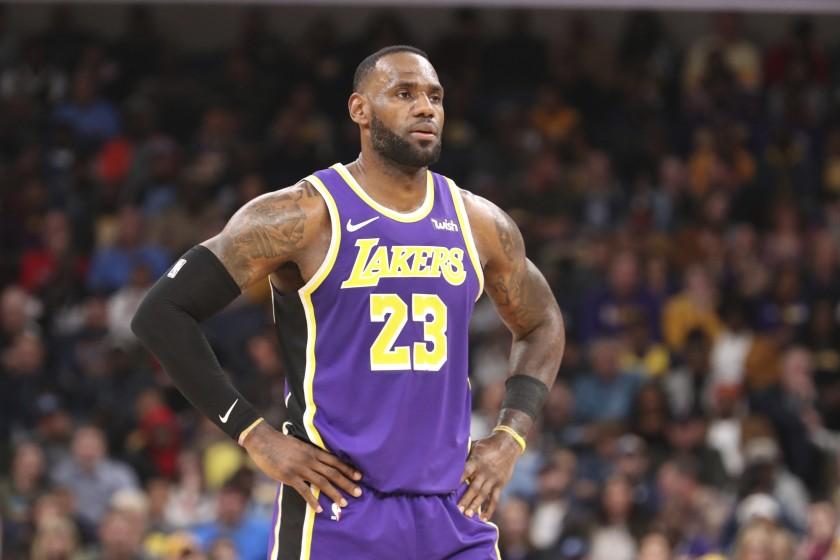 LeBron James podría regresar esta noche a los Lakers