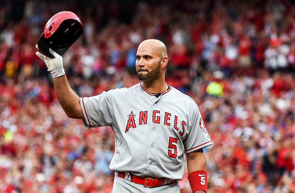 Albert Pujols, dejado en libertad por los Angelinos de Anaheim