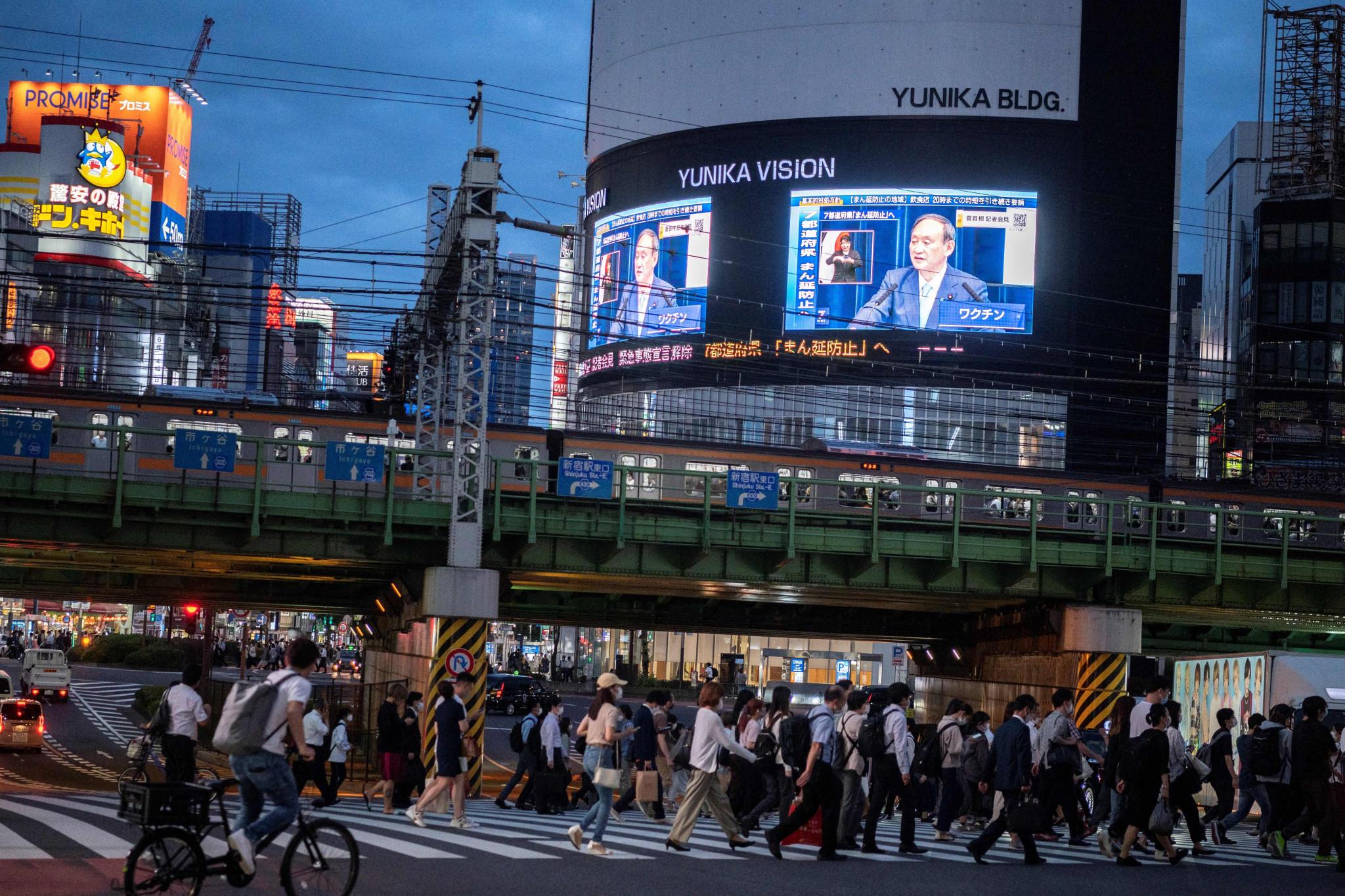 Suga confirma estado de emergencia en Tokio finalizará el 20 de junio