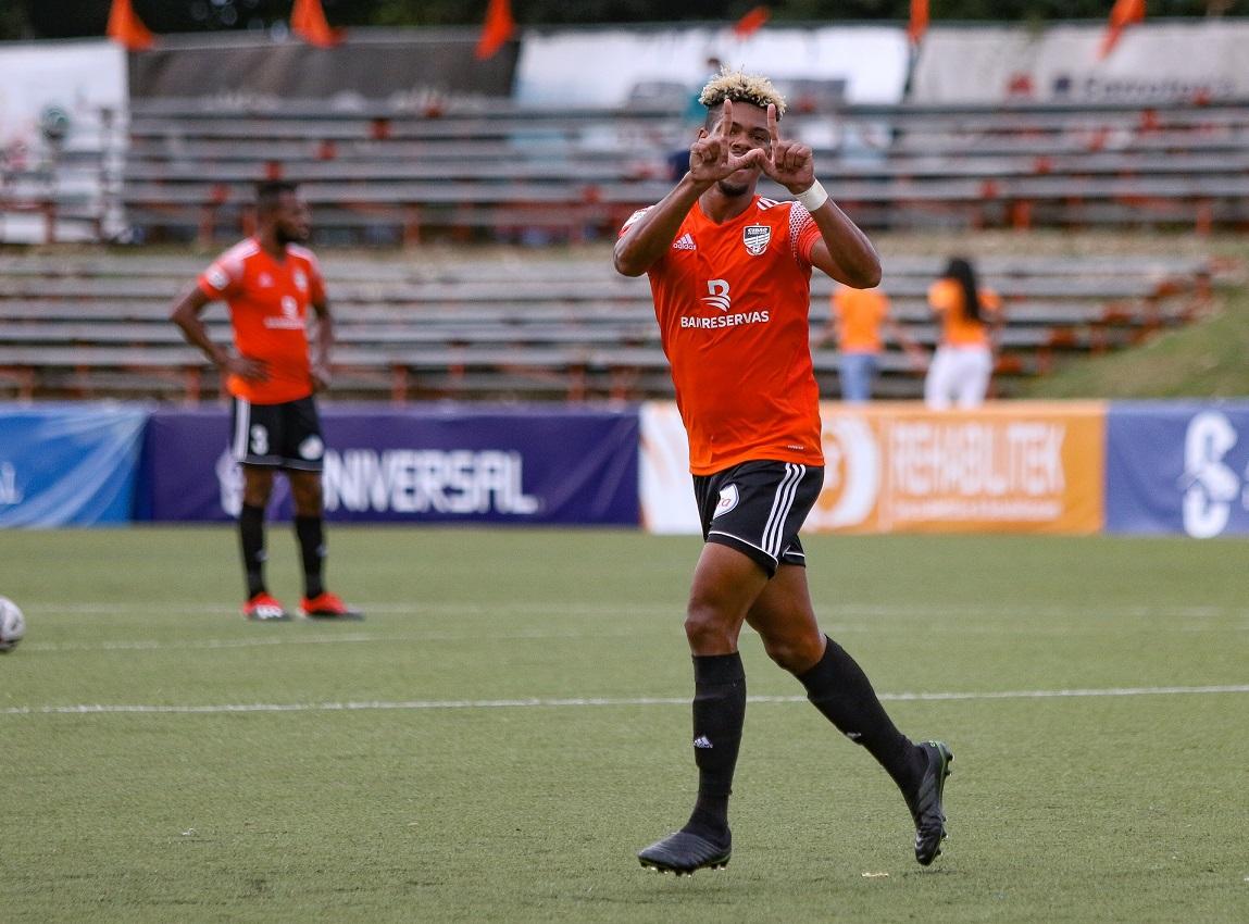 Cibao FC golea a San Cristóbal y continúa como líder de la LDF 2021