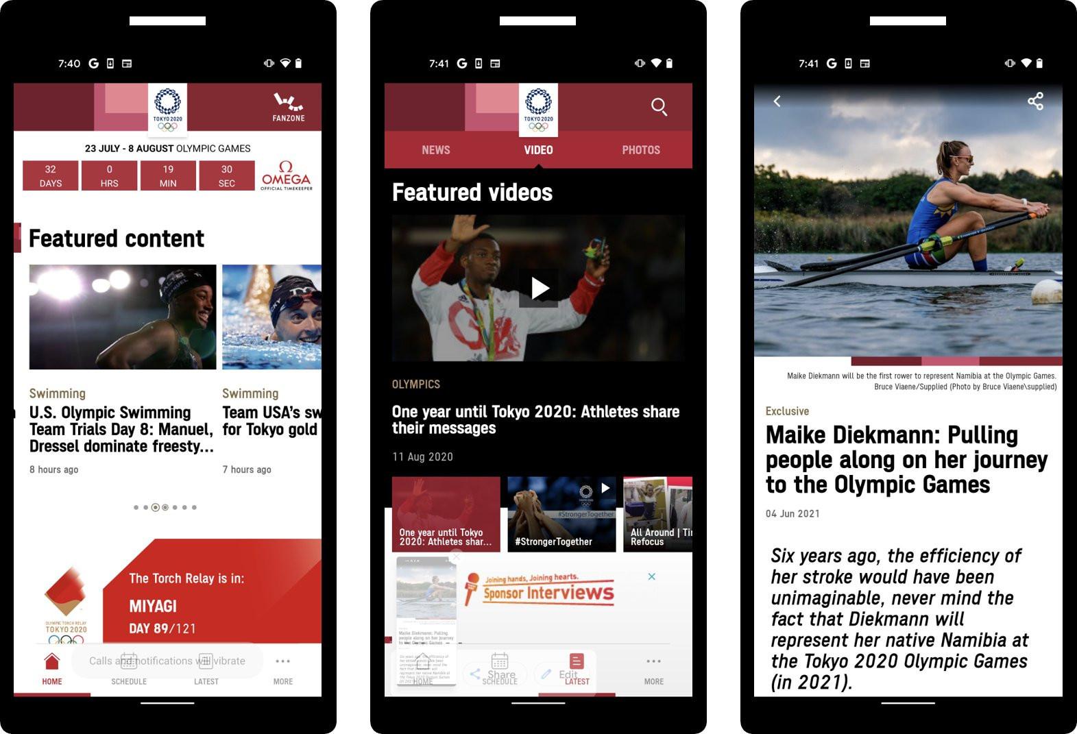 Tokio 2020 lanza aplicación móvil para conmemorar Juegos Olímpicos