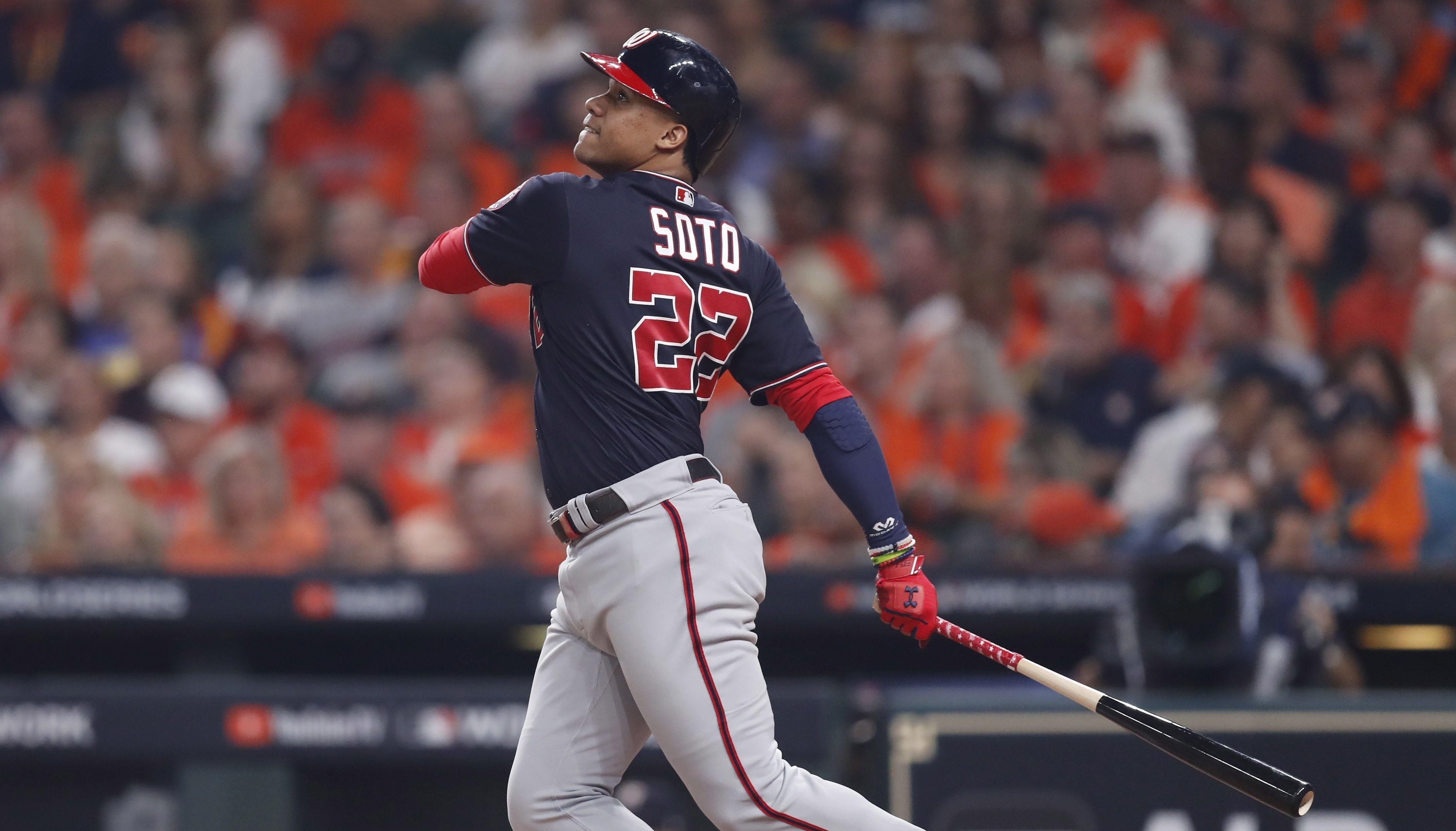 Soto decide con jonrón; Devers deja tendidos a Yankees