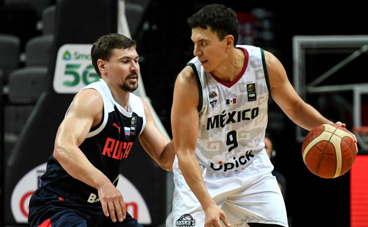 México se impone a Rusia, avanza a semifinal de Preolímpico de baloncesto