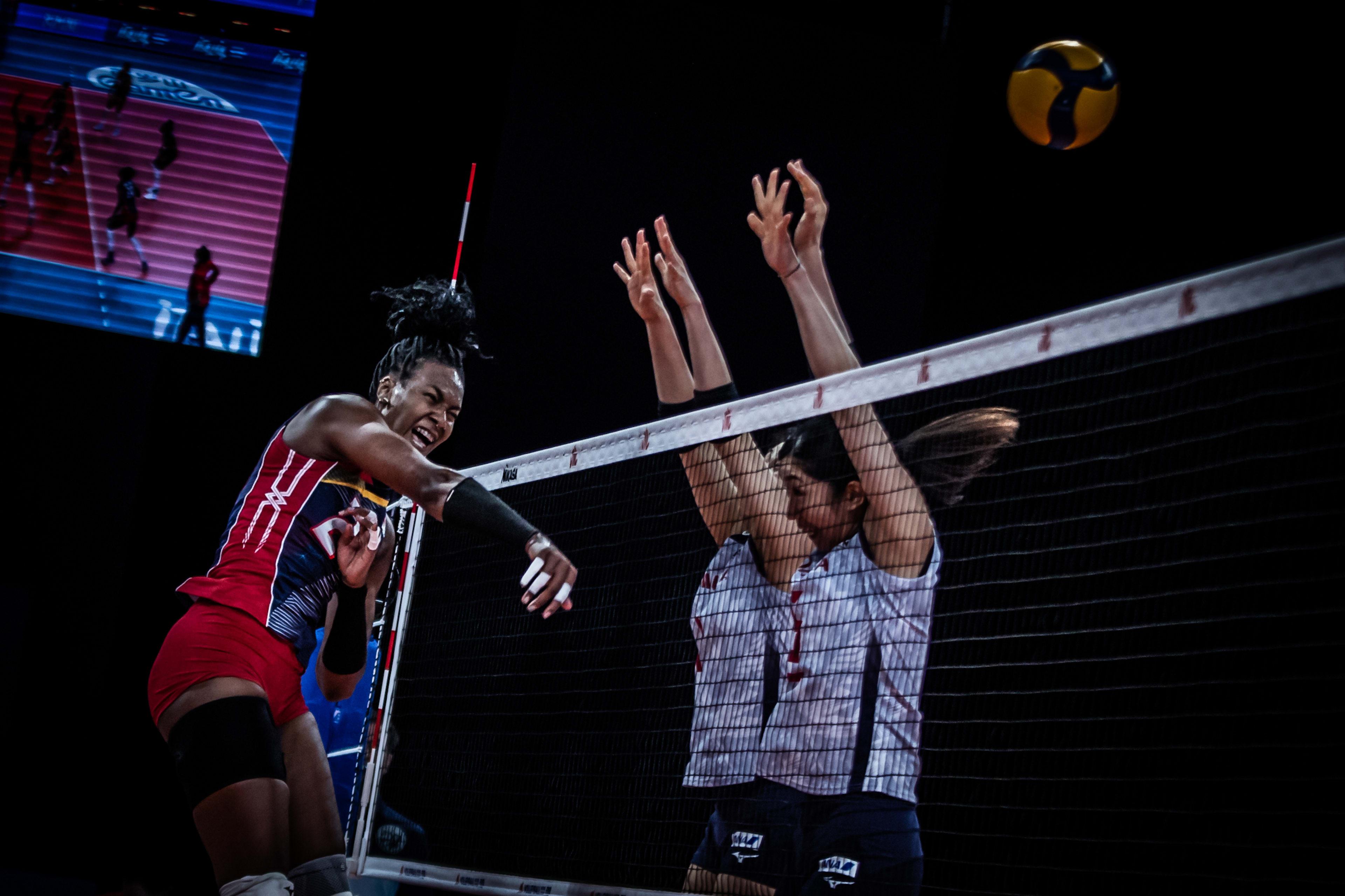 Dominicana pierde ventaja y cae ante Japón en Liga de Naciones